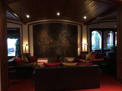 Staying at the Hotel Rigat, Spain