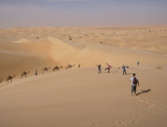 Savannah Grace, Sahara desert