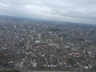 Antwerp, Belgium from above