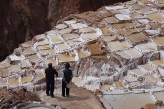 ancient salt terraces of Maras, Peru