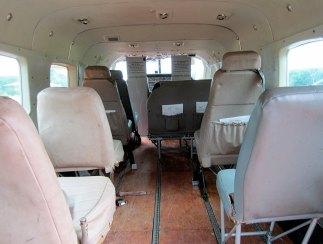small jungle plane in Suriname