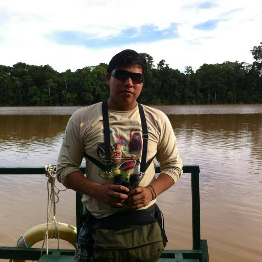 Jair, the best jungle guide in all of Peru