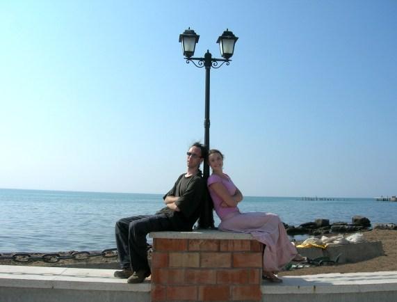 Ammon and Savannah in Albania