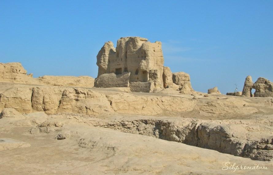 The Jiaohe Ruins ,China