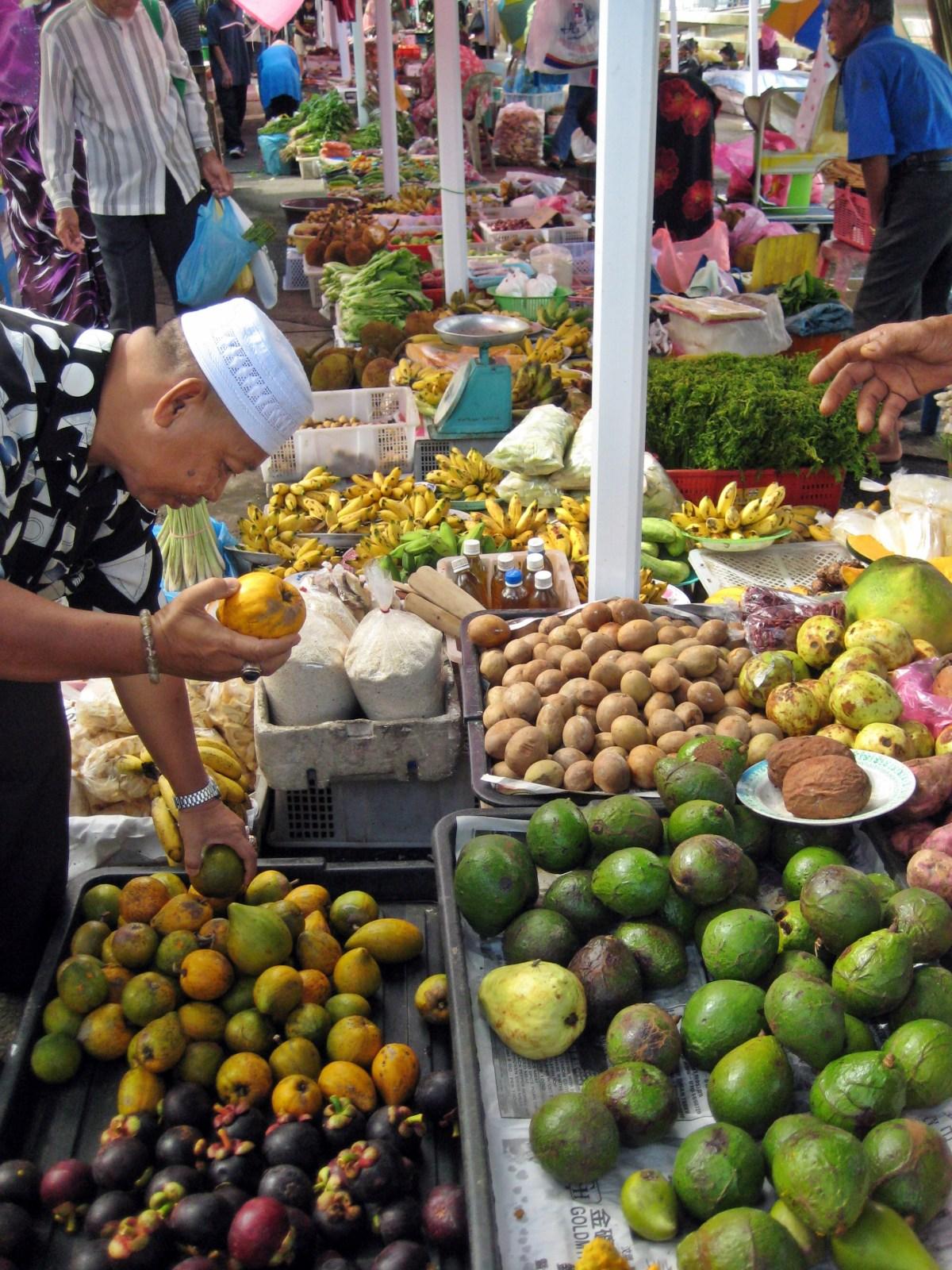Brunei fruit market