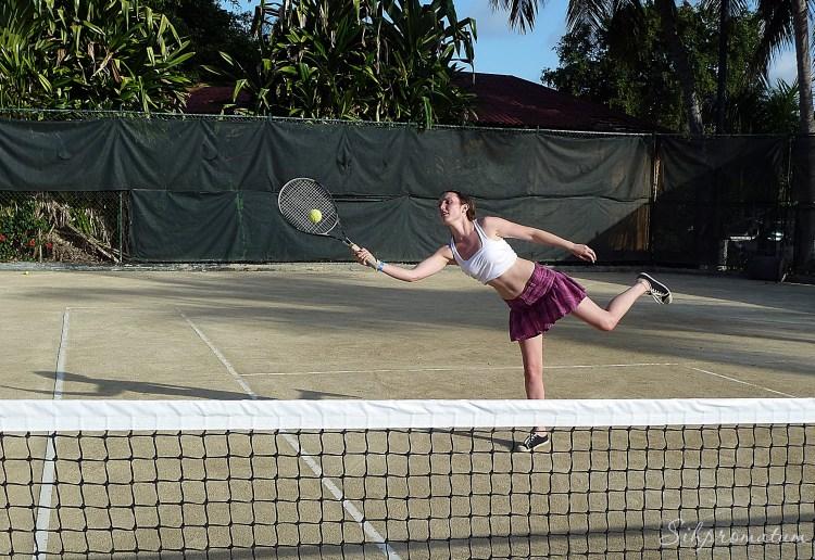 Dominican Republic. pro tennis player