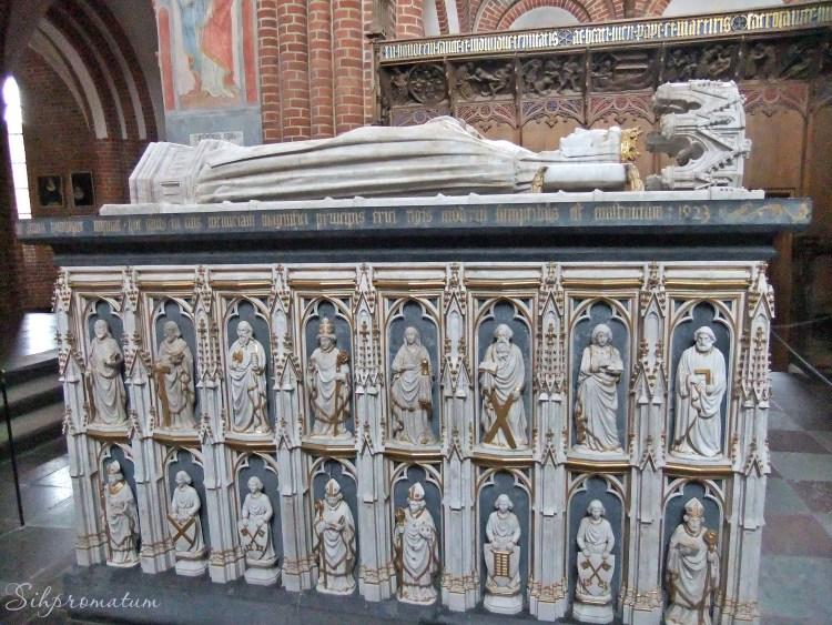 Sarcophagus of Scandinavian Queen Margrethe I.