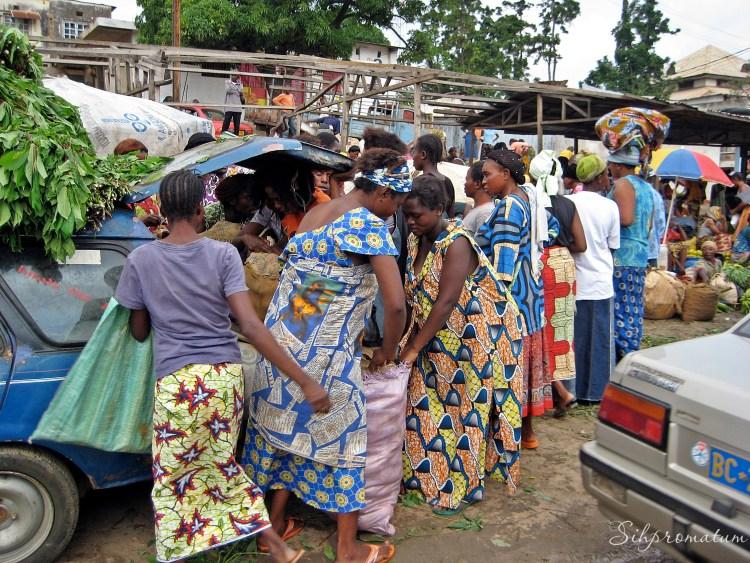 Market day in Matadi
