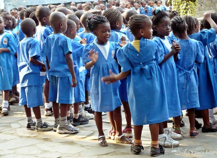 Beautiful children of Matadi