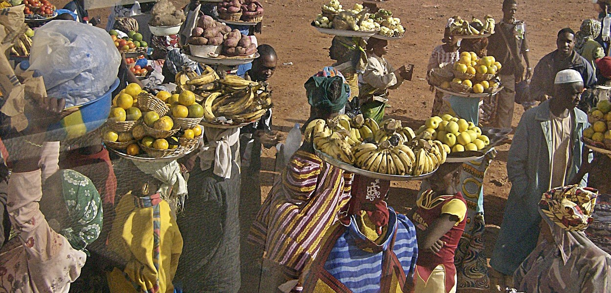 venders in Gambia