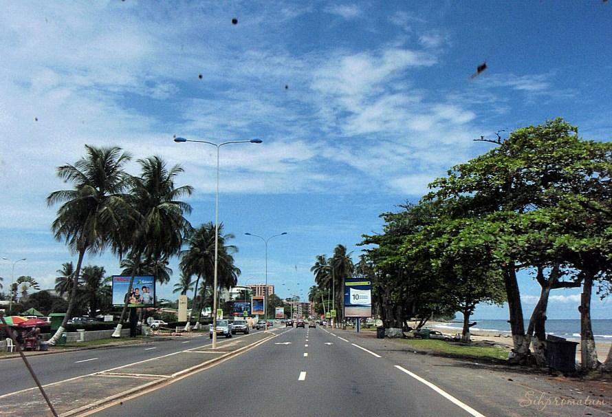 countryside of Gabon, Libreville