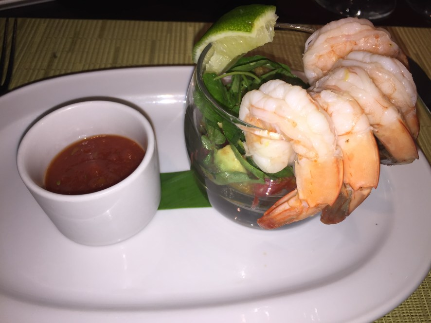 Shrimp Cocktail at Coral Grill