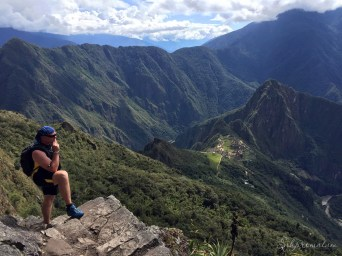 Over looking Machu Picchu