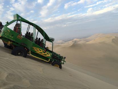 Sand dunes in Peru