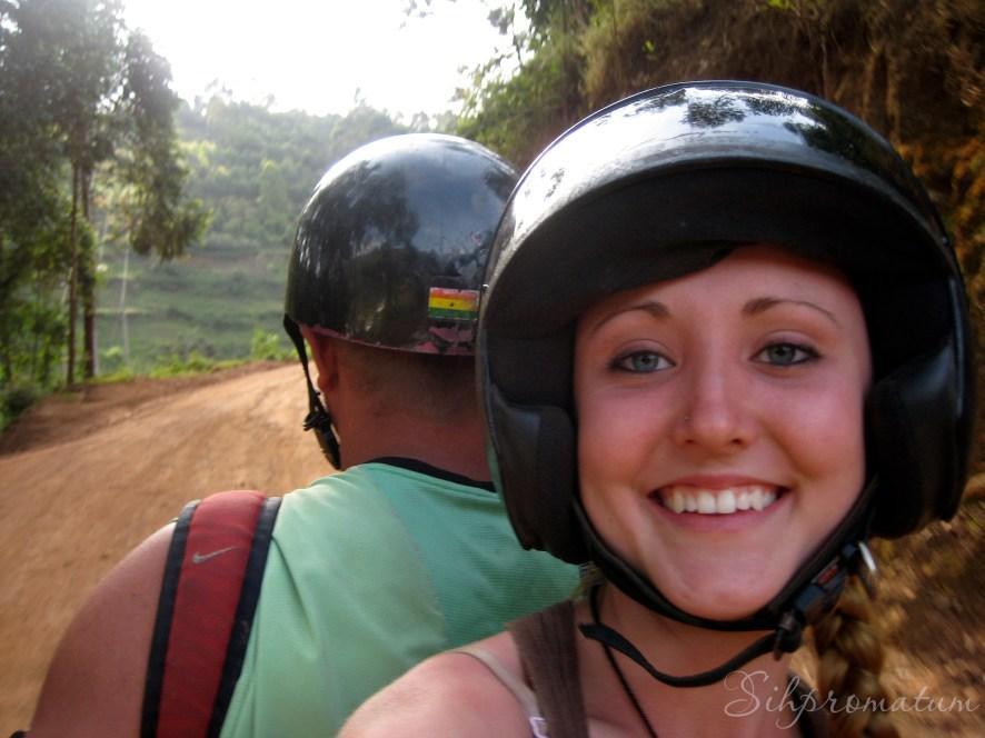Exploring the countryside of Uganda