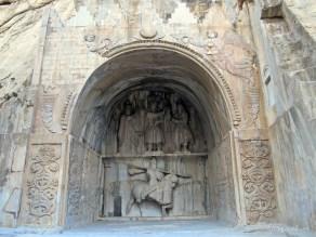 Taq-e bostan in Kermanshah