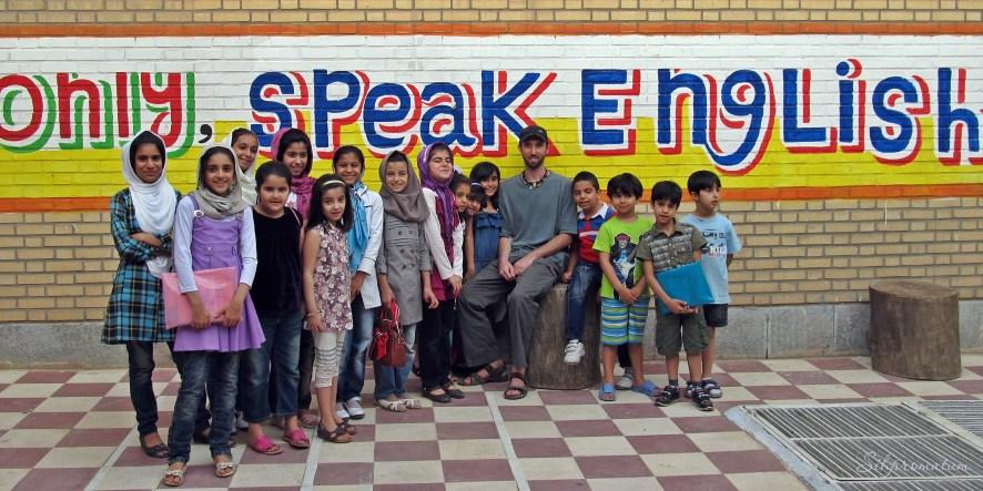 English class in Dezful