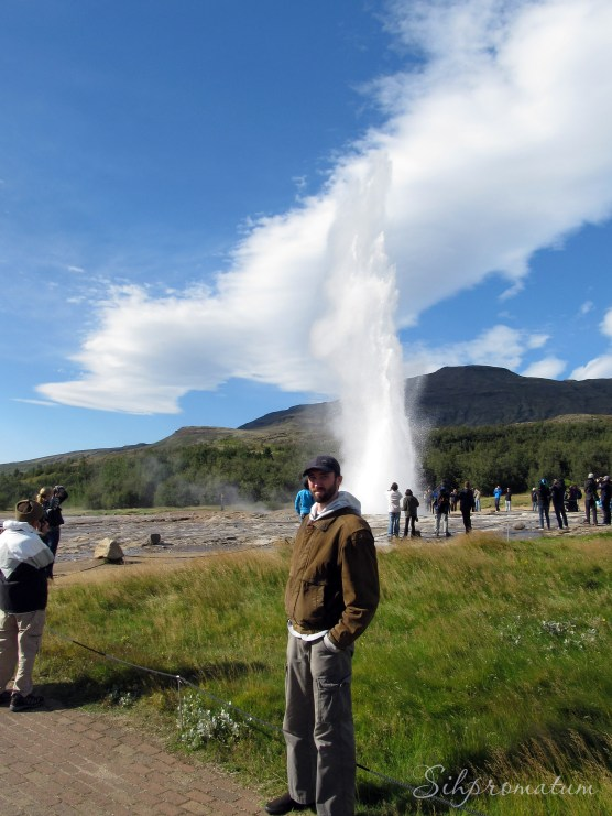 """Geysir is the original """"geysir"""" from which all others in the world are named."""
