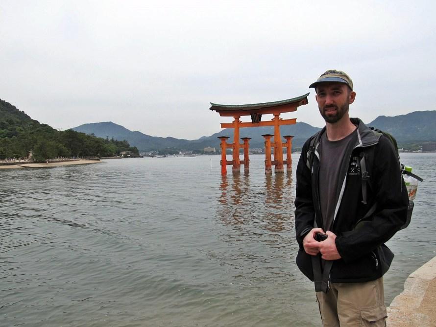 floating torii, miyajima  Japan