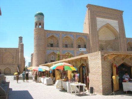 Uzbekistan, following the ancient silk road route is spectacular, Khiva, Samarkand