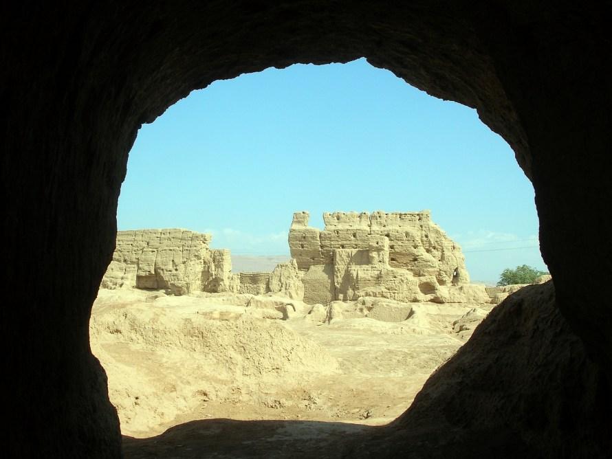 Jiaohe ruins, China