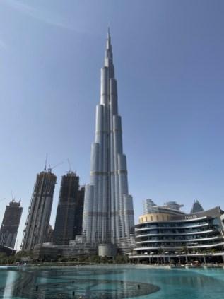 The Burj Khalifa - Dubai.