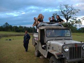 Arriving at Royal Chitwan