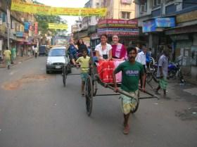 Rickshaw ride - Kolkata