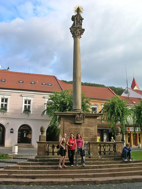 Trencin main square