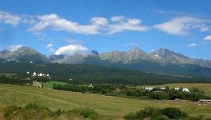 Tatra mountains neA hike up to the church ar Levoca