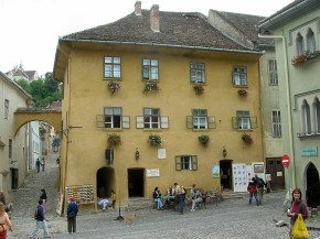 Count draculas birth home - Sighisoara