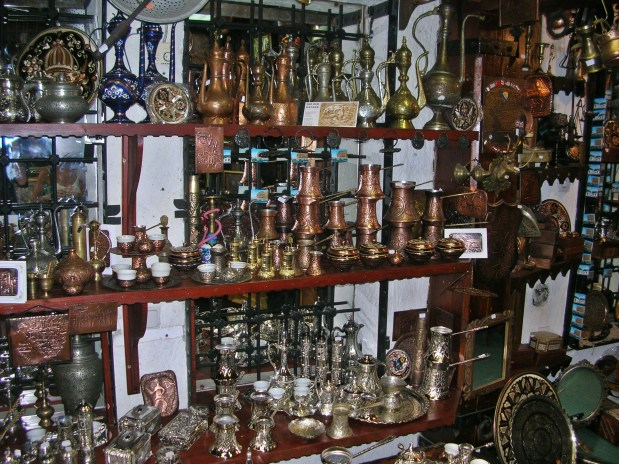Old town Bazaar in Sarajevo, Bosnia