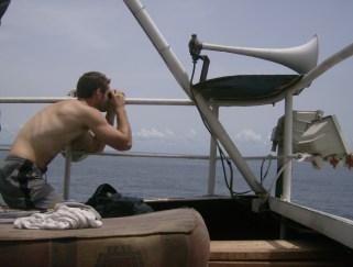 on the coast of Liberia