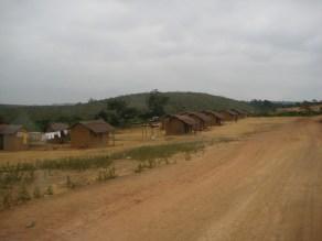 dusty roads of Angola