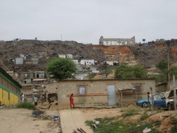 Garbage everywhere, Angola