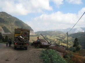 Overlanding through Ethiopia,
