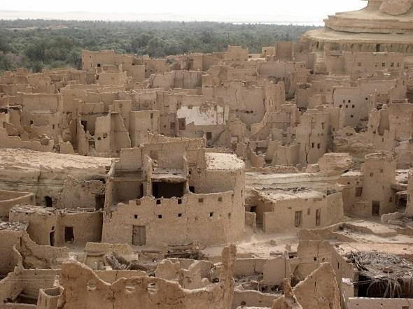 The ruins of Shali Siwa