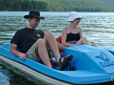 Ammon and Savannah Loon Lake BC