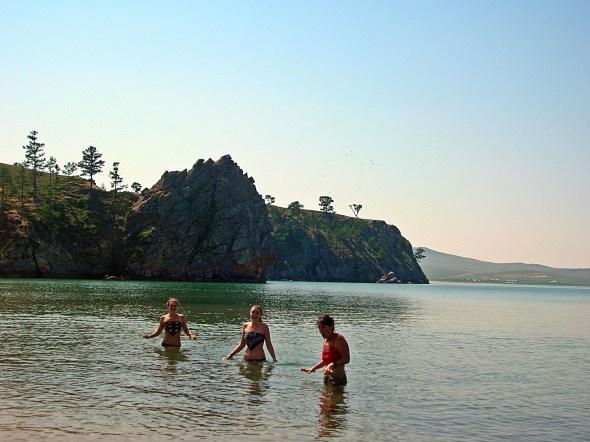 Lake Baikal, Russia. Backpacks and Bra Straps ch 3