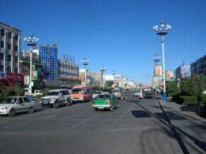 Golmud, Western China