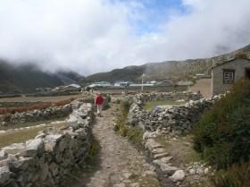 Trekking in Nepal. Backpacks and Bra Straps.