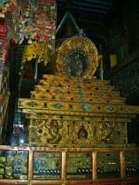 Dalai Lamas tomb. Tibet. Bacipacks and Bra Straps