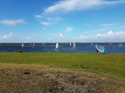 kite surfing in Bruinisse,