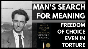 MAN'S SEARCH FOR MEANING Review by Siim Land