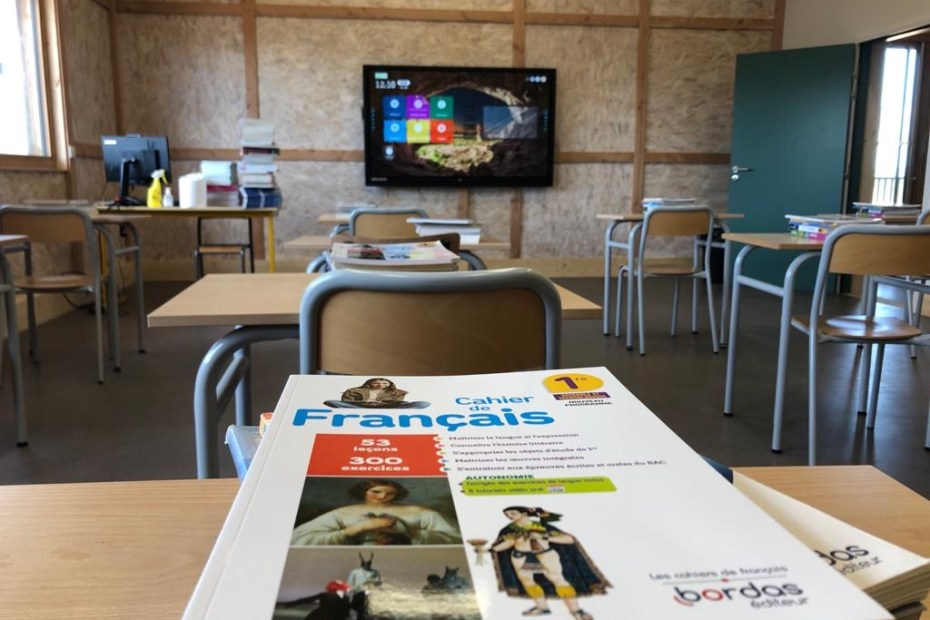 Ecran interactif école