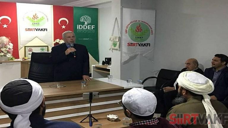 İslam Alimlerinin Siirt'te Buluşması