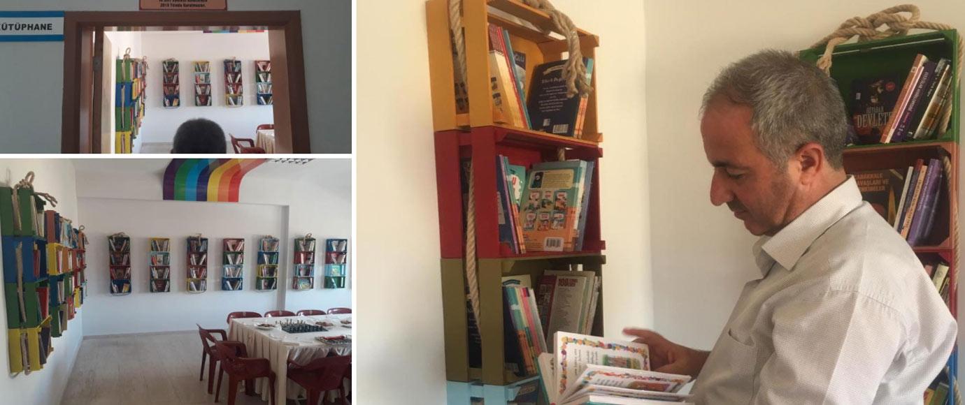 Siirt Vakfı Kütüphane Projesi Necip Fazıl