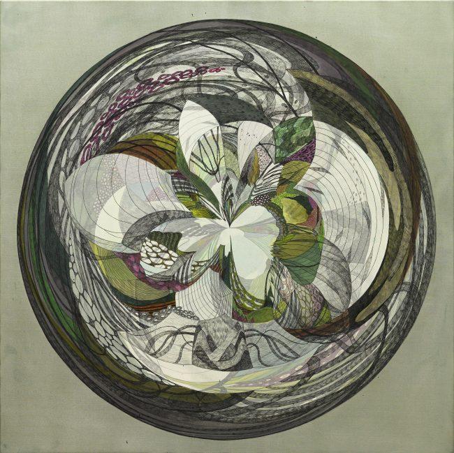 koreanartist_sijaebyun_contemporary_art_artwork_fineart_painting_silk_on_canvas_mixedmedia_ink_acrylic