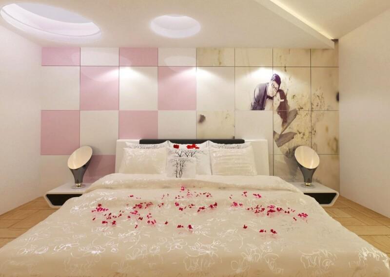Dekorasi kamar pengantin modern