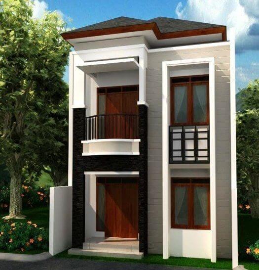Model Rumah Sederhana di Kampung